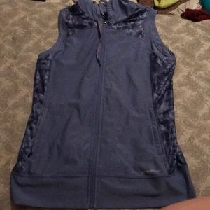 Purple Workout Hooded Vest